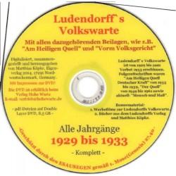 Ludendorffs Volkswarte Alle Jahrgänge