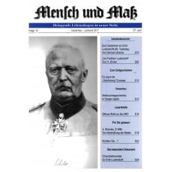 Mensch und Maß, 12/2017 Druckausgabe
