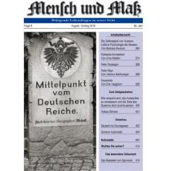 Mensch und Maß, 8 /2018 Druckausgabe