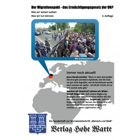 Der Migrationspakt- das Ermächtigungsgesetz der UN?