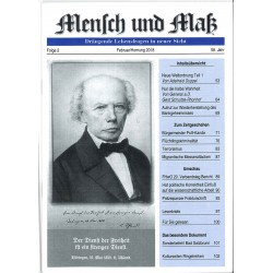 Mensch und Maß, Heft 2/2018