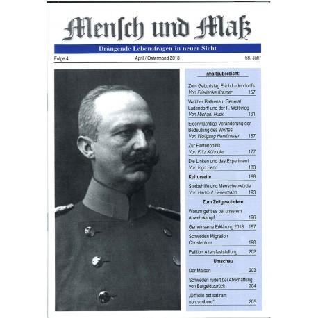 Mensch und Maß, Heft 4/2018