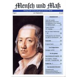 Mensch und Maß, Heft 6/2018