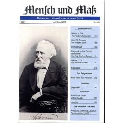 Mensch und Maß, Heft 7/2018