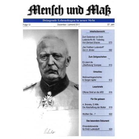Mensch und Maß, Heft 12/2017