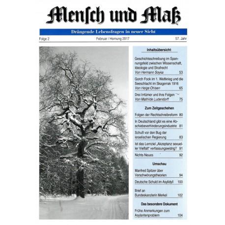Mensch und Maß, 2/2017