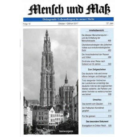 Mensch und Maß, 10/2017
