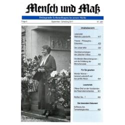 Mensch und Maß, 9/2017