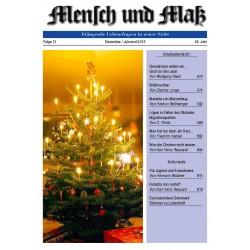 Mensch und Maß, 12/2018 Druckausgabe
