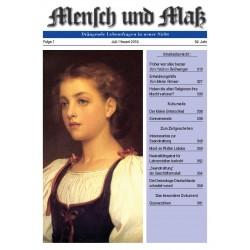 Mensch und Maß, 7/2018