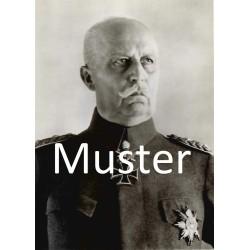 Ludendorff, Erich: 1935 in Uniform Lichtbild von Berger