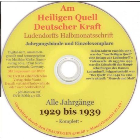 Am Heiligen Quell Deutscher Kraft, Ludendorffs Halbmonatsschrift 1929-1939