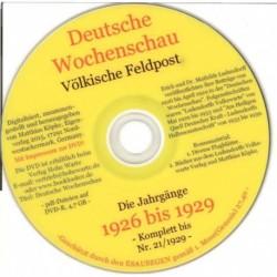 Deutsche Wochenschau 1926-1929 (teilweise)