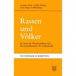 Duda, Karg von Bebenburg: Rassen und Völker im Licht der Wissenschaften und der Gotterkenntnis M. Ludendorffs